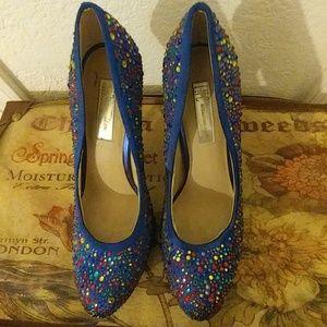 INC International Concepts Shoes - Beautiful blue heels